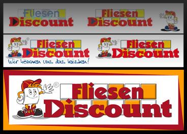 Logo redesign und corporate design showcase fliesen for Fliesen discount berlin